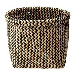 KNIPSA Basket, seagrass - IKEA