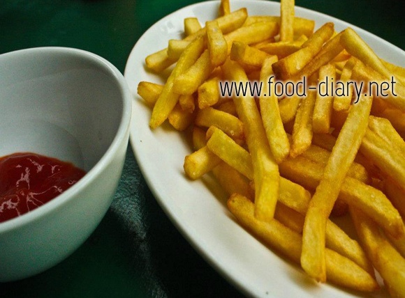 French Fries: Food Cravings, French Fries, Food Diaries, Blog Finding, Random Pin