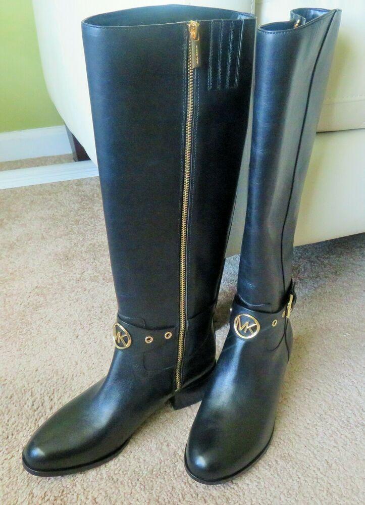 Michael Kors Heather Boots Black Size