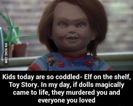 Chucky is the real deal
