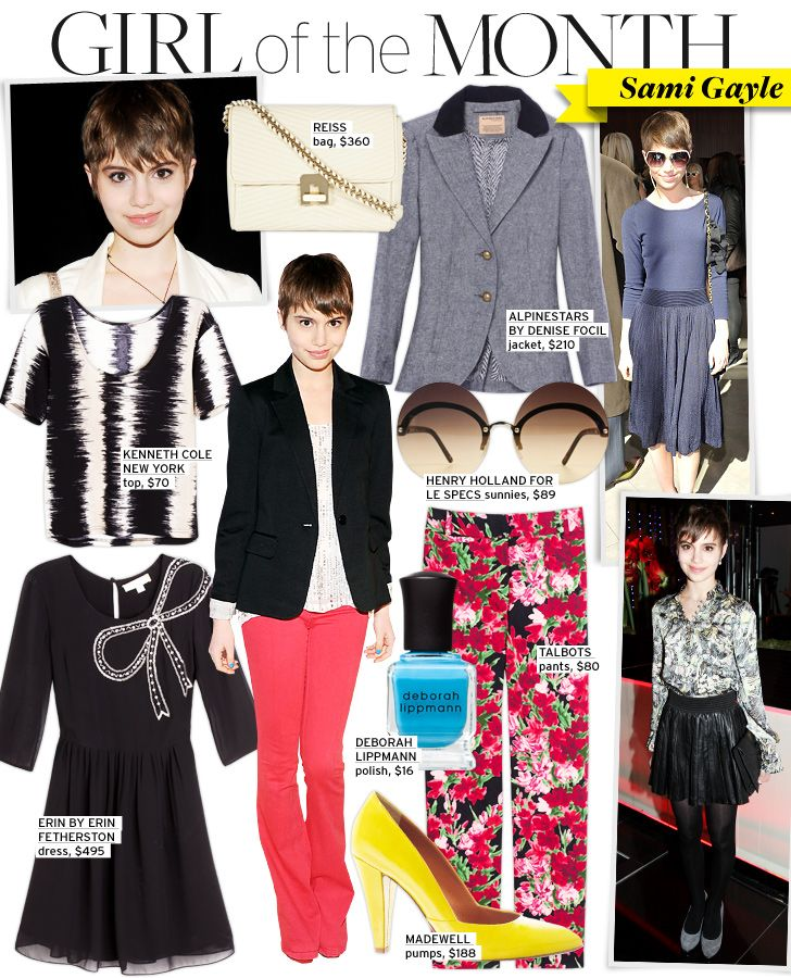 Do - Adorable style... and she's 16 years-old. Thinking back to my extremely awkward teen days, I was never, ever this cool, lol!Natural Makeup, Who What Wear, Coral Pants, Sami Gayle, Feminine Style, Nature Makeup, Cute Hair, Girly Girls, Red Pants