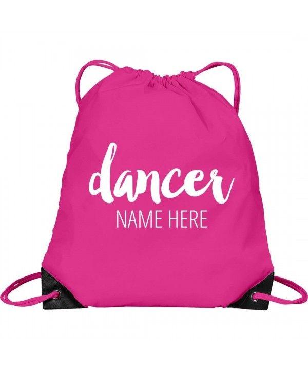 1e4f48e5710a Custom Cute Dance Bag For Teen: Port & Company Drawstring Bag ...