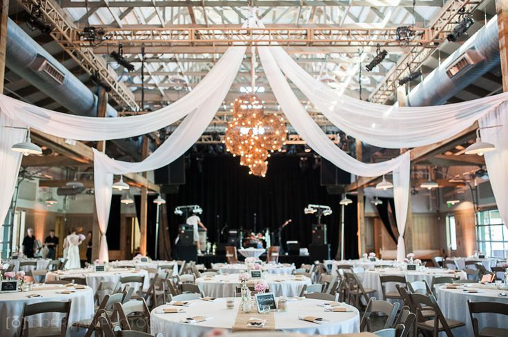 love the draping, could be used to make the focus of the middle point of the ceremony area in the warehouse part of brazos hall