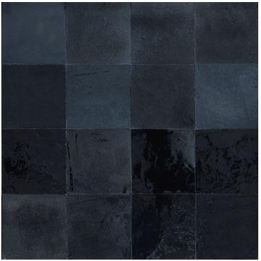 Zellige noir métallique. Mosaic del sur.