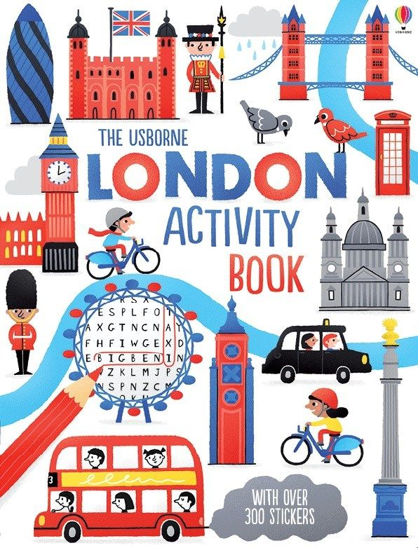 """Find out more about """"London activity book"""", write a review or buy online."""