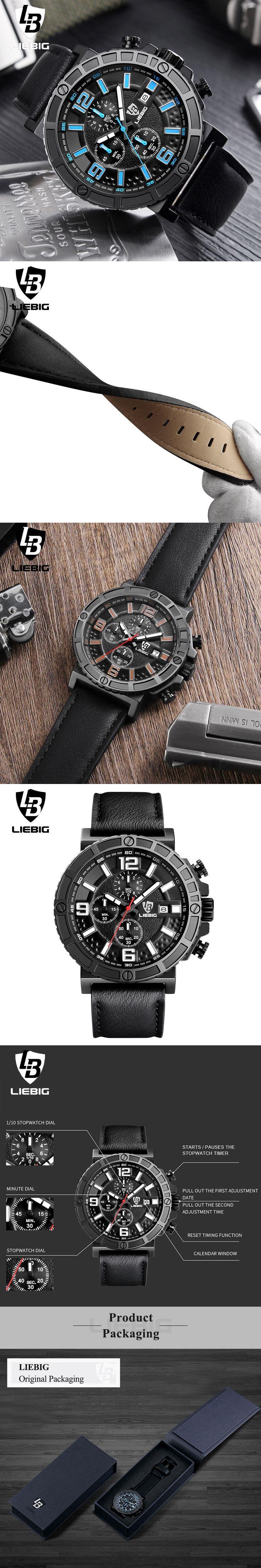 Luxury Top Brand Fashion Men's Quartz Watch Military Waterproof Watches Sport Stopwatch Watch Men Clock Relogio Masculino Xfcs