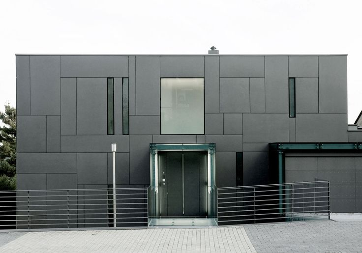 EQUITONE facade materials. Villa in Dortmund, germany by DRP Baukunst. www.equitone.com #architecture #material #facade