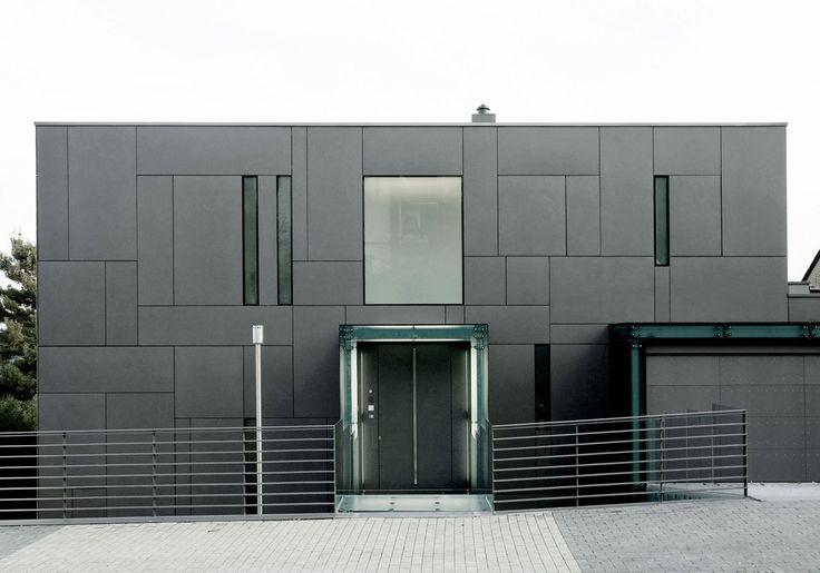 Villa in Dortmund by DRP Baukunst. EQUITONE facade panels. www.equitone.com
