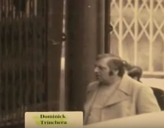 """Dominick """"Big Trin"""" Trinchera (December 20, 1936 Bronx, New York - May 5, 1981 Dyker Heights, Brooklyn) was a Bonanno crime family capo who was murdered with Alphonse Indelicato and Philip Giaccone for planning the overthrow of aspiring Bonanno boss Philip Rastelli."""