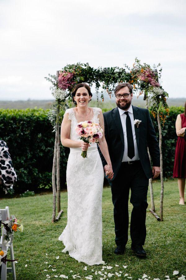 Beautiful Hinterland Wedding #ByronBay Link to SMP story www.stylemepretty.com/australia-weddings/new-south-wales-au/2014/09/02/country-garden-wedding-in-byron-bay