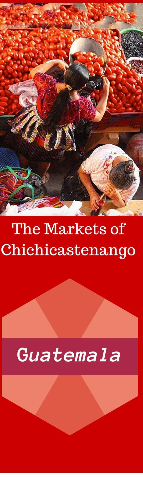 Things to do in Guatemala -  Chichicastenango is an indigenous village lying on the crest of the northern volcanoes in Guatemala. It is at an altitude of almost 2000 meters (6500 feet). It is especially busy during market days which are held every Thursday and Sunday. The market days are a hustle and bustle atmosphere unlike anything I have ever experienced in all of my travels. http://PointsandTravel.com