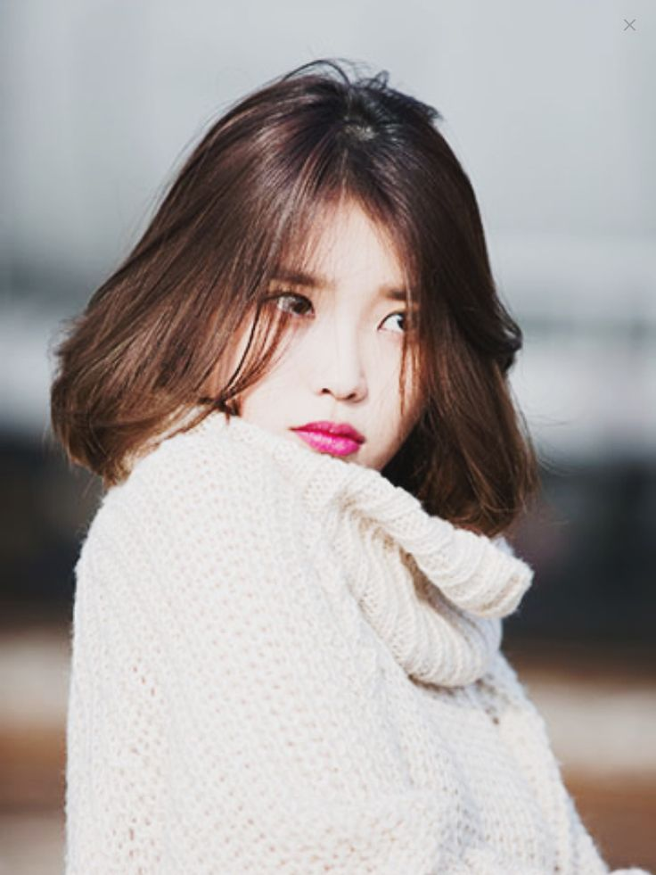 hair styles for thin hair and iu s perfectly bob hair 8319