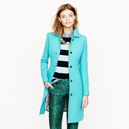 Double-cloth lady day coat with Thinsulate®: Fashion, Style, J Crew, Color, Double Cloth Lady, Jcrew, Coats