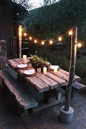 You can use the best outdoor lighting yourself …
