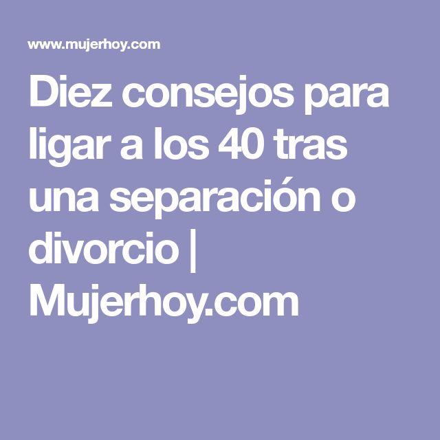 Diez consejos para ligar a los 40 tras una separación o divorcio | Mujerhoy.com