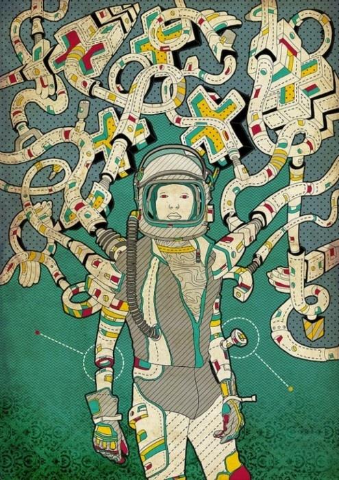 space suit tencales - photo #36