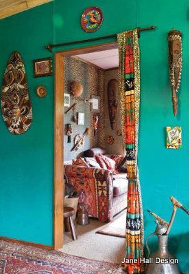 Material used instead of door. Discover more inspiration doors at Good to be Home.