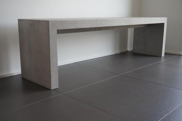Betonbank Beton-Sitzbank Sitzbank in Beton von BetonLust auf DaWanda.com
