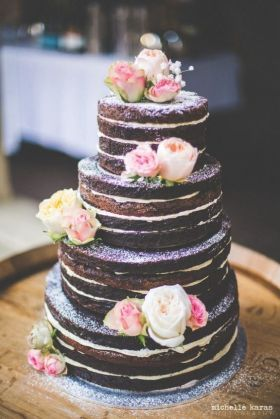 Grand naked cake au chocolat_Un Monde Confetti