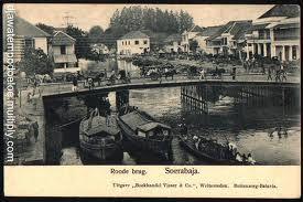Jembatan Merah Surabaya 1890