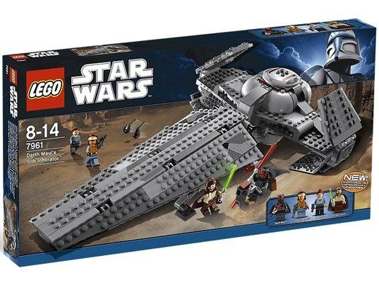 Jeu de construction LEGO Star Wars 7961 - Darth Maul Sith Infiltrator