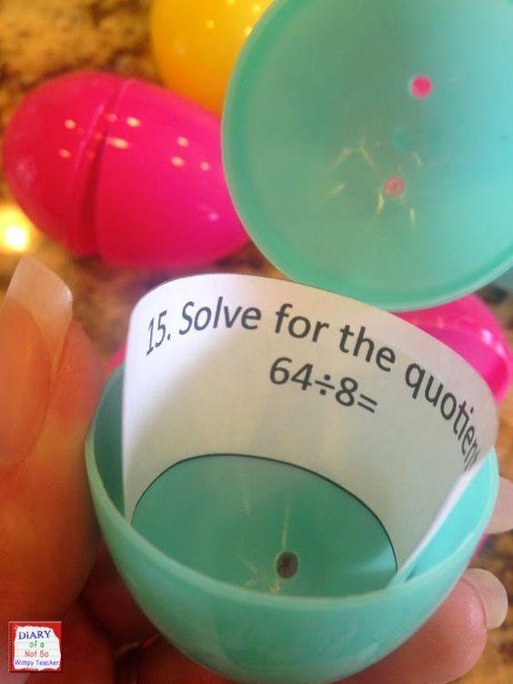 Classroom Easter Egg Hunt