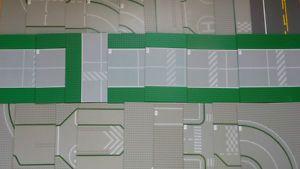 Grandes Plaques grand choix construction LEGO route rue base BTJ