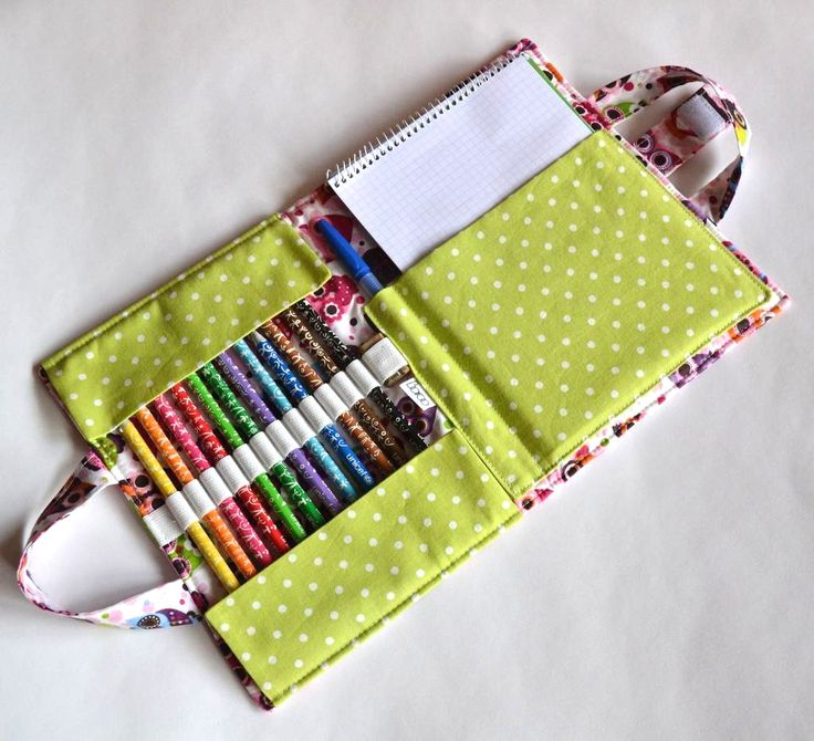 7 Organizer Sewing Patterns For Art Supplies In The