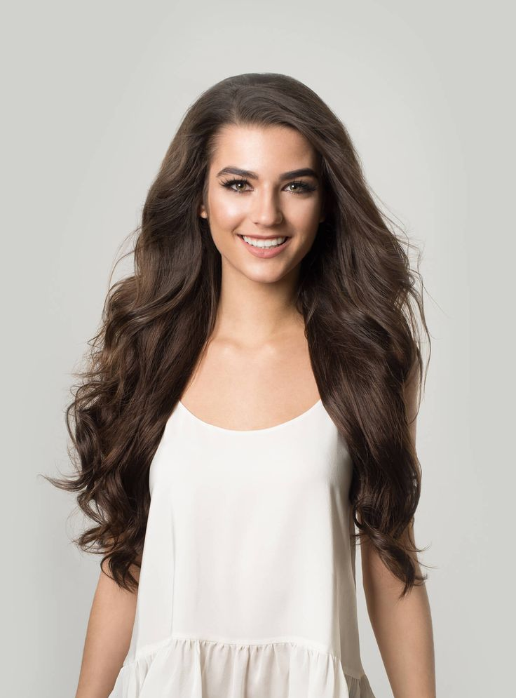 Instantly transform your hair with Chocolate Brown clip-in Luxy Hair ...