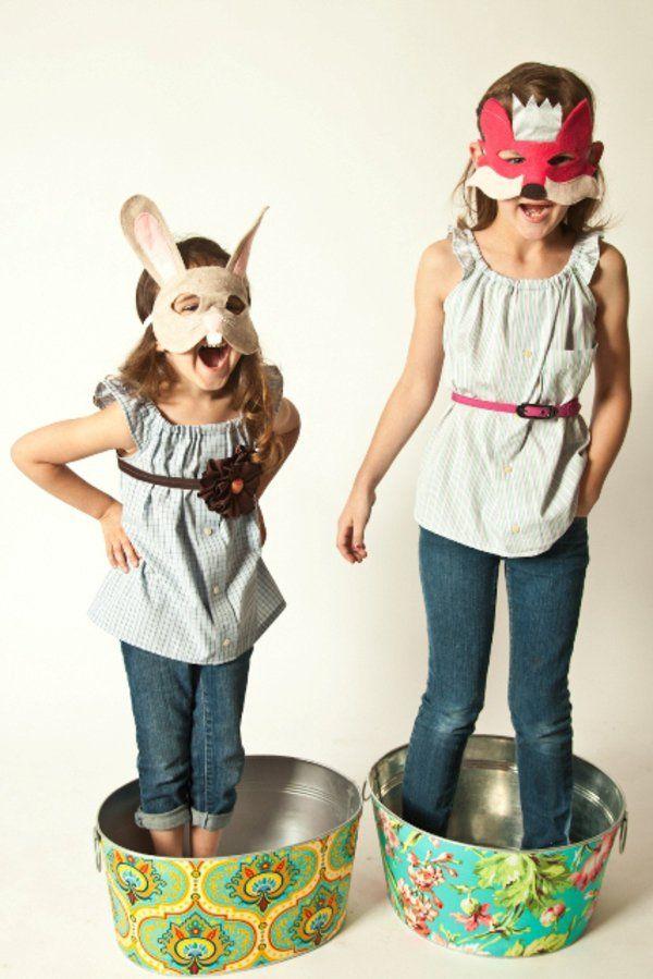16 besten tiermasken bilder auf pinterest karneval. Black Bedroom Furniture Sets. Home Design Ideas