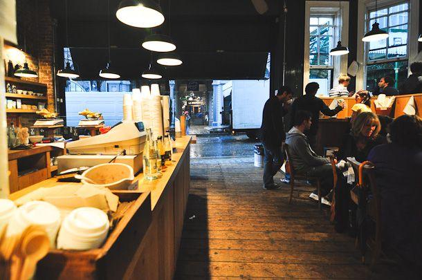 Monmouth Coffee - Borough Market, London