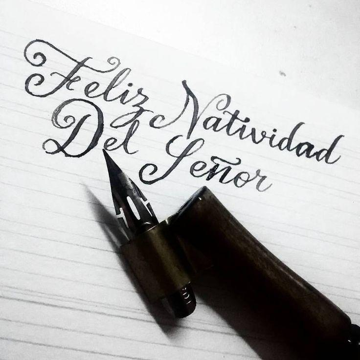 Natividad del señor  #hand #handletter #letter #caligraphy #typography #tipografía #typedaily #calligritype #ligaturecollective  #ilovetypography #customtype #handtype #welovetype #typelove #handmadetype #THDESIGNTIP  #typeros #creatorshouse #typographists #thedailytype #handmadefont #TYxCA #typetopia #typegang #handstyle #brushtype