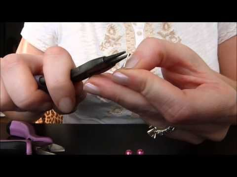 How to Make a Rosary Style Link - YouTube