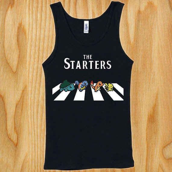 Pokemon singlet   The 33 Best Geeky Things To Buy On Etsy