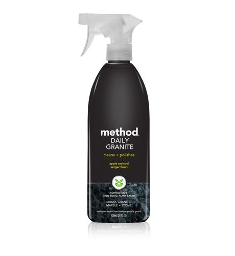 Method daily granite surface cleaner. I have finally found the one! leaves my uba tuba black granite gleaming and streak free. Trust me I have been through every granite cleaner out there - this is the one!!!