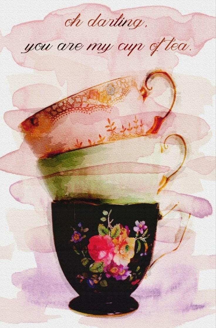 Modernarte My Cup of Tea Canvas Art