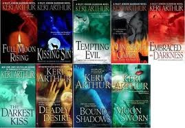 Keri Arthue ~ Riley Jenson/Guardian series books 1-9  .....  love them