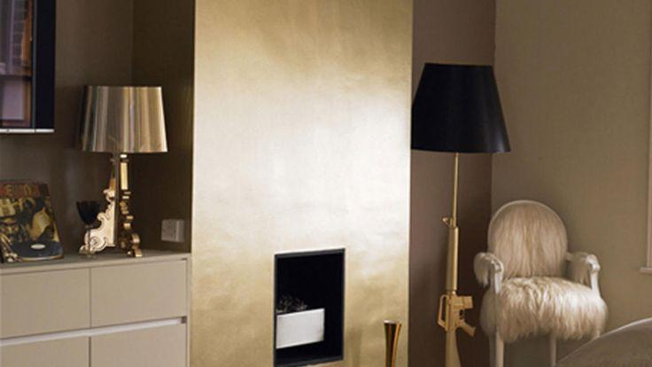 Si buscas un estilo sofisticado y clásico, nada mejor que esta paleta madura de oro viejo y reluciente cobre.