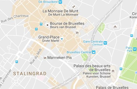 Je vous ai préparé un petit itinéraire à faire à pied pour visiter Bruxelles en une journée ou en un weekend, avec tous les incontournables à découvrir
