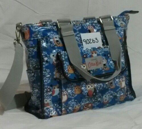 Blue owl handbag