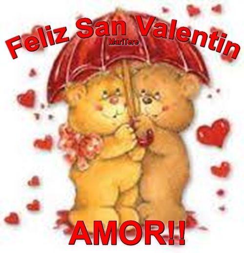 Feliz San Valentin Amor!