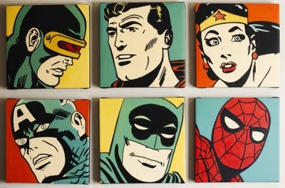 Superhero bedroom ideas - boys would LOVE this!