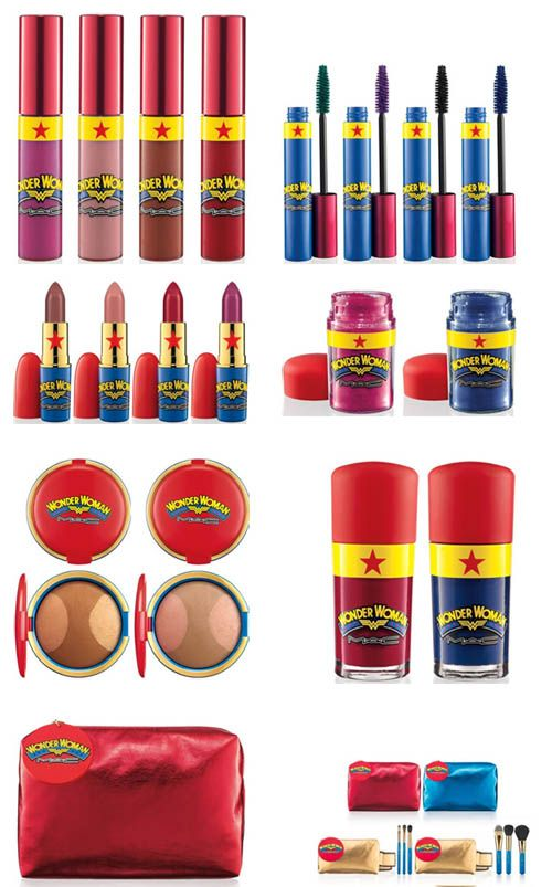 MAC Wonder Woman Collection- not for a baby but for when dress up and fun make-up times come around!?