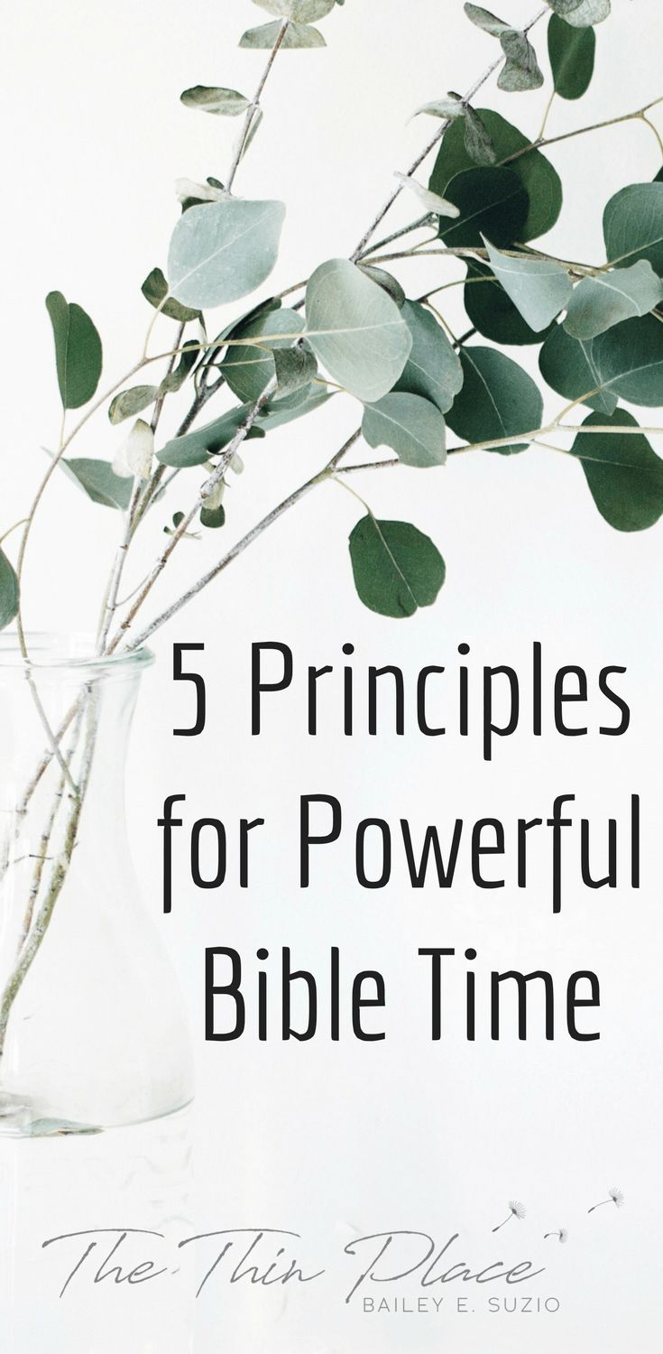 Disciplines of the Faith: Crafting Daily Time in the Word - The Thin Place