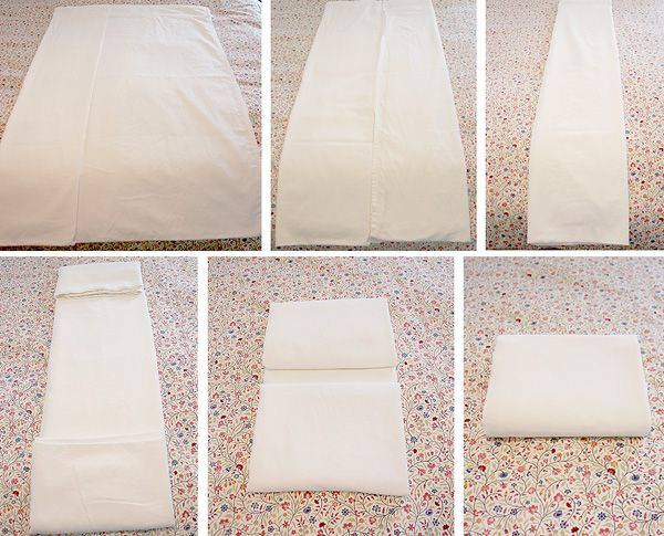 how to fold u0026 store extra bed sheets - How To Fold Fitted Sheets