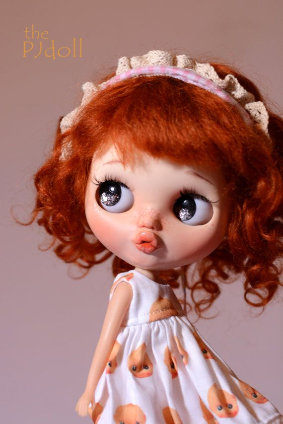 thePJdoll-SOLD OUT KewPie Baby Custom Blythe by ThePJdoll