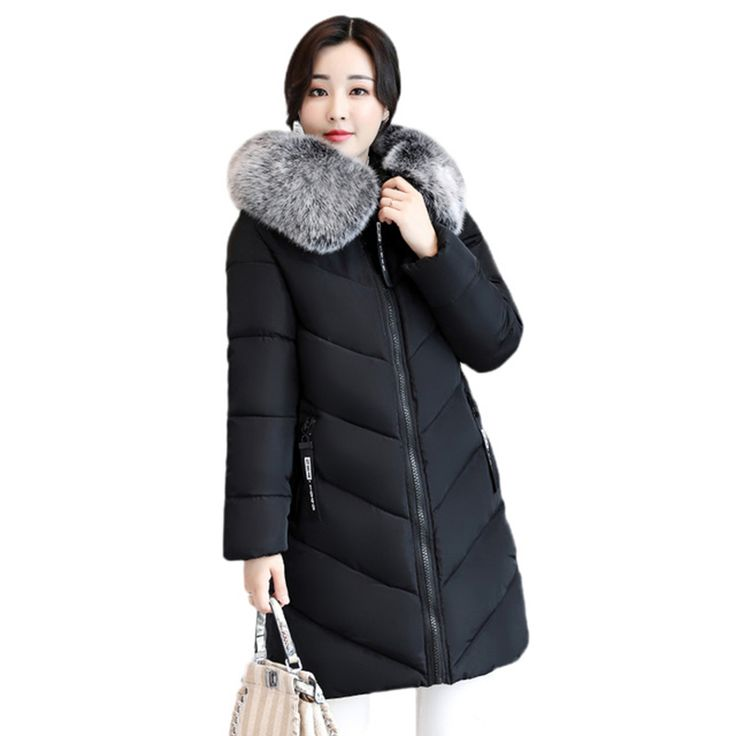 Cheap winter coat women, Buy Quality women parka directly from China winter coat Suppliers: winter coat women 2017 Fur hooded Long Jacket women Parkas Cotton Padded Thicken Warm Female Coat Large Plus size 5XL 6XL RE0092