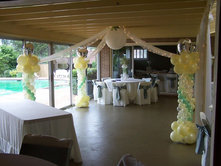 Outdoor Wedding Decoration Balloons