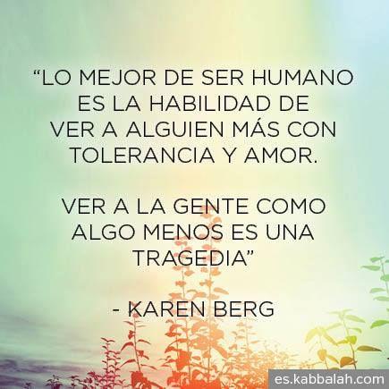 Karen Berg Kabbalah en español