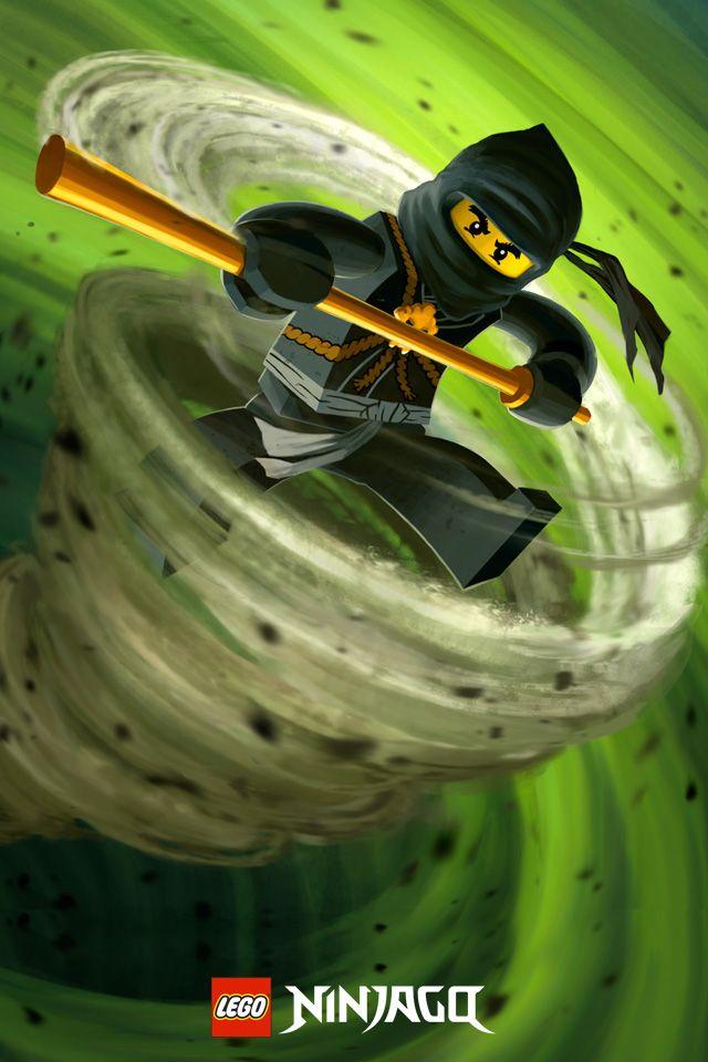 Lego Ninjago Cole Masters Of Spinjitzu Ninja Der Erde Poster